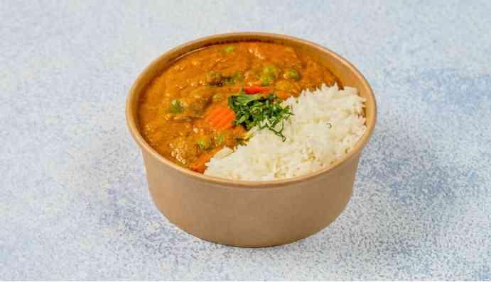 Bowl Mix Veg. Curry